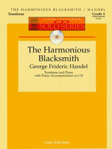 9780825853883: The Harmonious Blacksmith - Trombone and Piano with CD