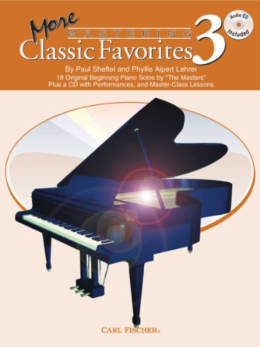 9780825855979: PL1217 - More Mastering Classic Favorites, Book 3 (with CD)