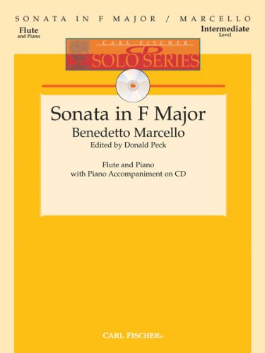 9780825856204: Sonata in F Major for Flute