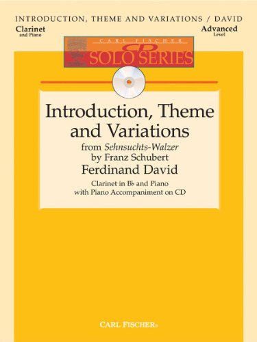 9780825856341: Introduction, Theme And Variations