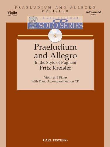 Praeludium And Allegro - Violin & Piano: Fritz Kreisler
