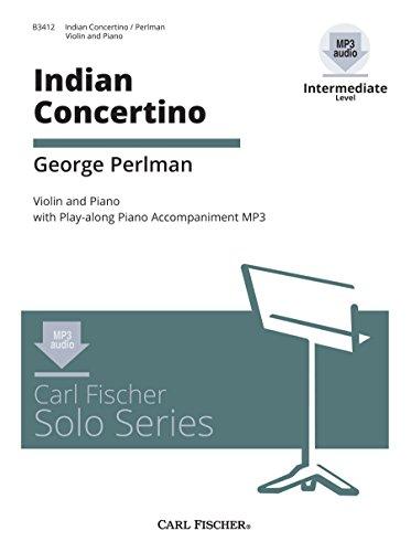 9780825857867: Indian Concertino - Intermediate - Violin & Piano