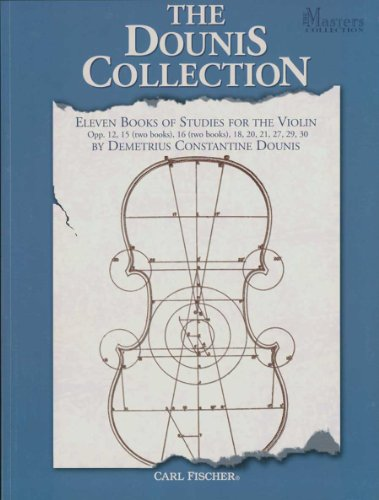 9780825858505: BF16 - The Dounis Collection - Eleven Books Of Studies for The Violin