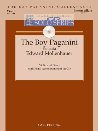 Boy Paganini - Intermediate - Violin & Piano - BK/CD: Edward Mollenhauer