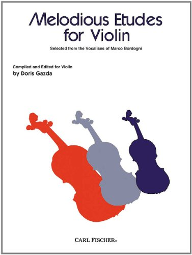 9780825859830: BF23 - Melodious Etudes for Violin