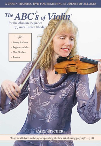 9780825860119: The ABCs of Violin for the Absolute Beginner