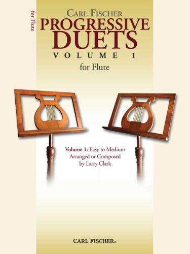 Carl Fischer Progressive Duets, Volume 1: Easy To Medium: Arranged by Larry Clark