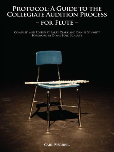 9780825865114: WF58 - Protocol: A Guide to the Collegiate Audition Process for Flute