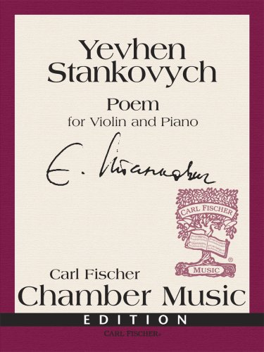 9780825867224: Poem for Violin and Piano