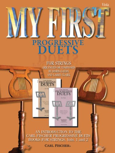 9780825868542: BF51 - My First Progressive Duets - Strings, Viola