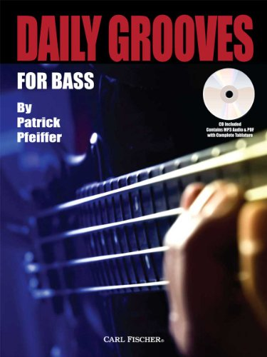 9780825871207: Daily Grooves for Bass (Book & CD)