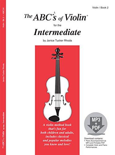 9780825871252: The ABCs of Violin for the Intermediate, Book 2 (Book & MP3/PDF)