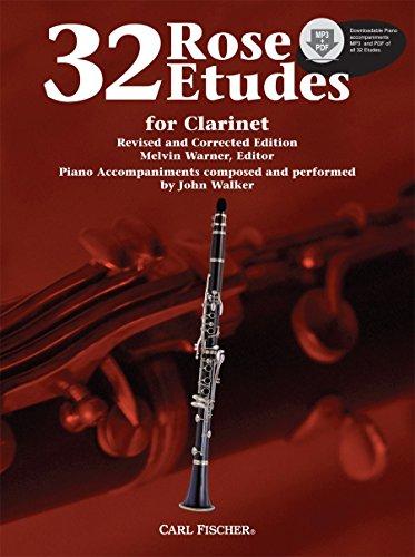 9780825871306: WF85 - 32 Rose Etudes for Clarinet Book