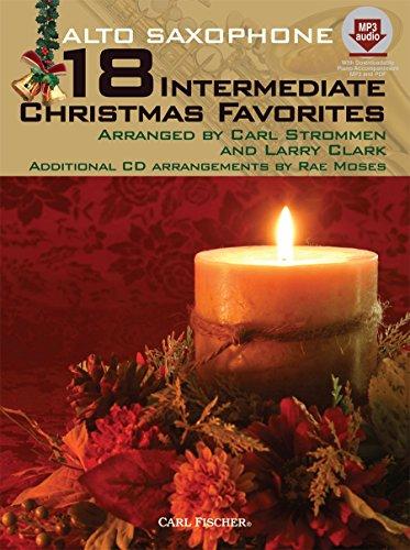 9780825882685: WF101 - 18 Intermediate Christmas Favorites with Data/Accompaniment CD - Alto Saxophone