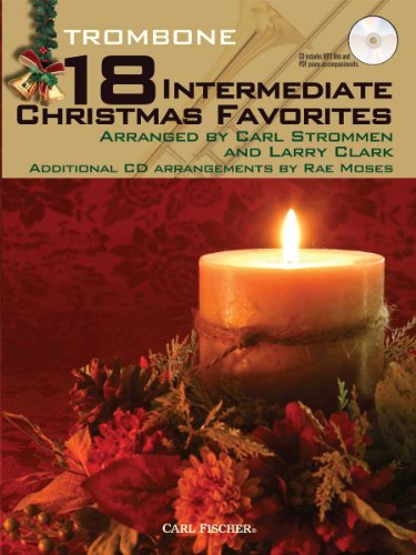 9780825882708: WF103 - 18 Intermediate Christmas Favorites with Data/Accompaniment CD - Trombone
