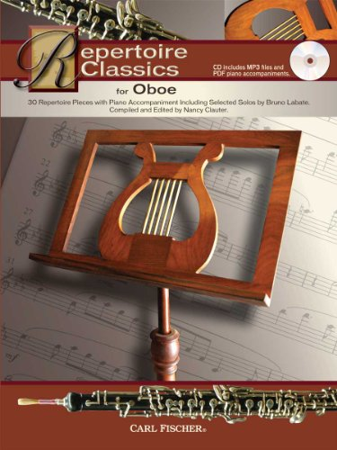 WF111 - Repertoire Classics for Oboe: Nancy Clauter