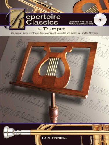 Repertoire Classics for Trumpet: Compiled and edited by Timothy Morrison