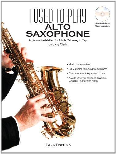 WF116 - I Used to Play Alto Sax BK/CD: Larry Clark