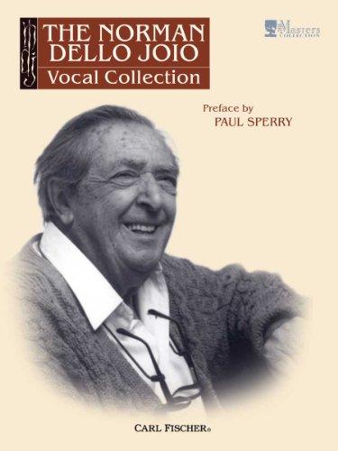 9780825883675: VF20 - The Norman Dello Joio Vocal Collection