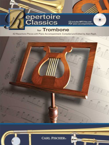 9780825883712: WF118 - Repertoire Classics for Trombone (42 Recital Pieces with Piano Accompaniment)