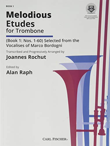 9780825884337: Melodious Etudes for Trombone: Book 1 : Nos. 1-60