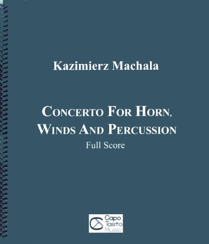 9780825884344: Concerto for Horn, Winds and Percussion