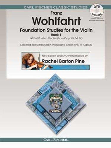 9780825885464: O2465X - Wohlfahrt Foundation Studies for the Violin Book 1 Book/DVD