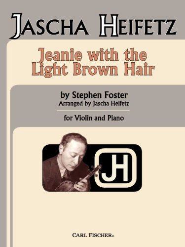 Jeanie With Light Brown Hair: STEPHEN C. FOSTER