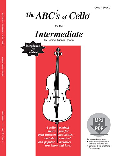 9780825886850: The ABCs of Cello for the Intermediate, Book 2 (Book & MP3/PDF)