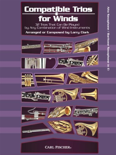 9780825890109: WF130 - Compatible Trios for Winds: 32 Trios That Can Be Played by Any Combination of Wind Instruments (for Alto / Baritone Saxophone)