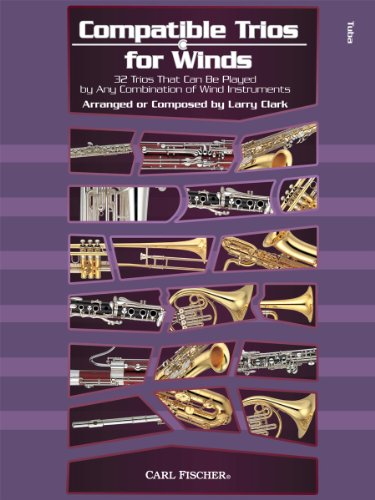 9780825890130: WF133 - Compatible Trios for Winds: 32 Trios That Can Be Played by Any Combination of Wind Instruments (for Tuba)
