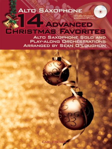 9780825890390: WF136 - 14 Advanced Christmas Favorites: Alto Saxophone