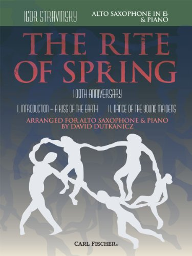 9780825891120: The Rite of Spring - Movements I and II Arranged for Alto Saxophone and Piano