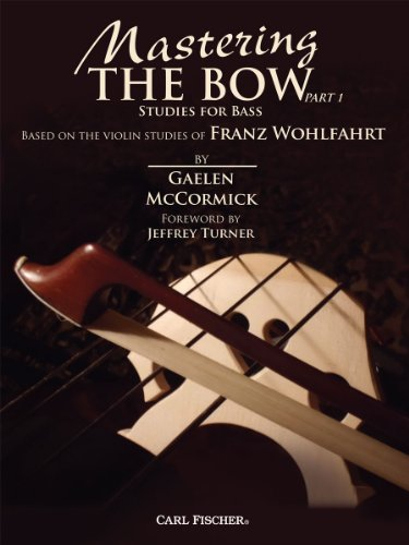 9780825891854: BF87 - Mastering The Bow, Part 1, Studies For Bass