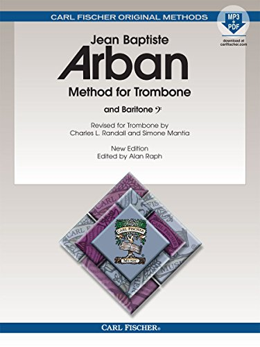 9780825893315: O23X - Arban Method For Trombone & Baritone Book/MP3