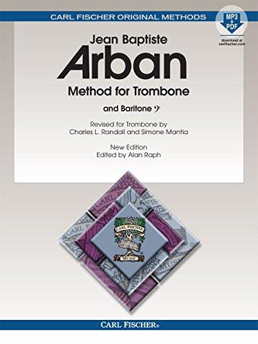 9780825893315: O23X - Arban Method For Trombone & Baritone Book/MP3