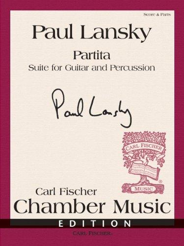 9780825893360: Partita (Suite for Guitar and Percussion)