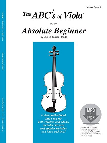 9780825893476: The ABCs Of Viola for the Absolute Beginner, Book 1 (Book & CD)