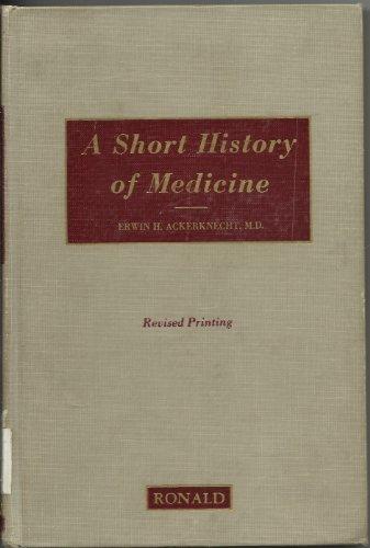 9780826002150: Short History of Medicine