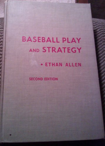 9780826003058: Baseball Play and Strategy