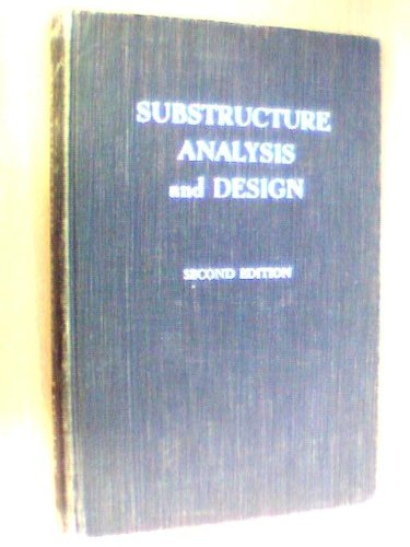9780826004109: Substructure Analysis and Design