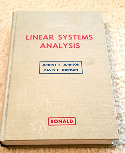 9780826047700: Linear Systems Analysis