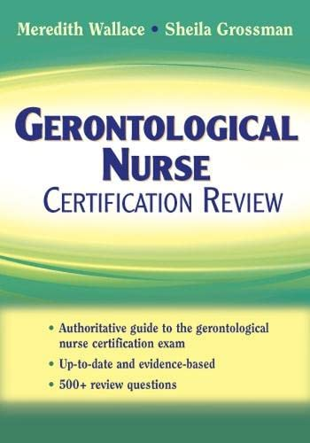 9780826101143: Gerontological Nurse Certification Review