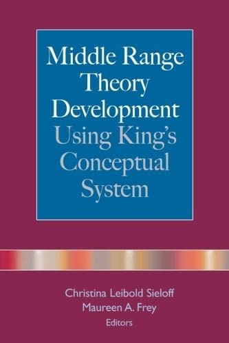 9780826102386: Middle Range Theory Development Using King's Conceptual System