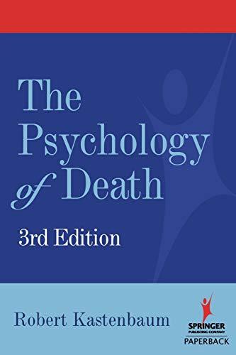 9780826102638: Psychology of Death, Third Edition
