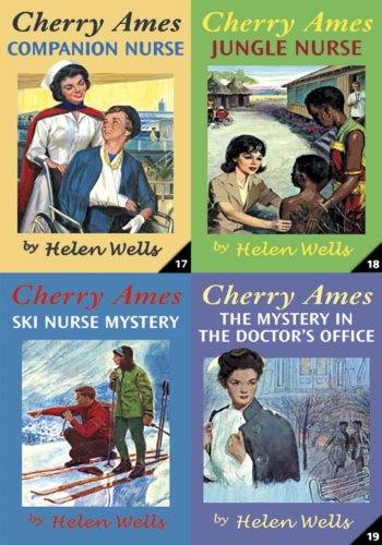 9780826104397: Cherry Ames Boxed Set (Books 17-20): Companion Nurse, Jungle Nurse, The Mystery in the Doctor's Office & Ski Nurse Mystery