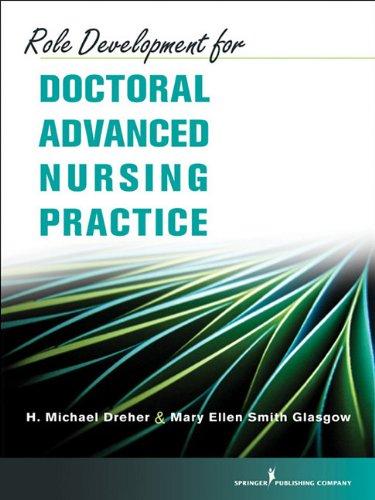 9780826105578: Role Development for Doctoral Advanbced Nursing Practice
