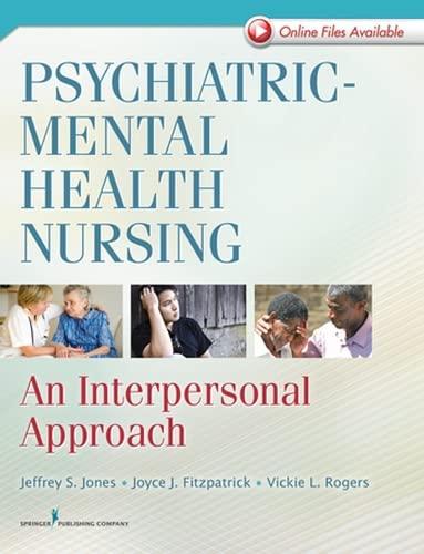 9780826105639: Psychiatric-Mental Health Nursing: An Interpersonal Approach