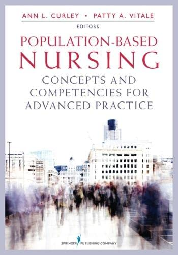Population-Based Nursing: Concepts and Competencies for Advanced: Vitale MD MPH