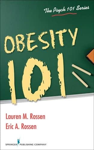 9780826107442: Obesity 101 (Psych 101)